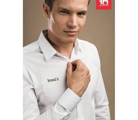 THC PARIS WH. Men's poplin shirt