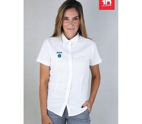 THC LONDON WOMEN WH. Women's oxford shirt