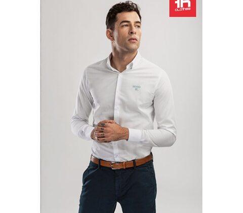 THC BATALHA WH. Men's poplin shirt