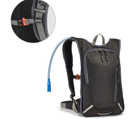MOUNTI. Sports backpack with a water reservoir