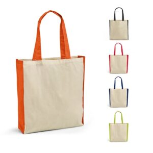 BAZAR. 100% cotton bag - Orange