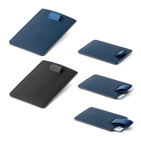 BARRYMORE. Leather wallet - Blue
