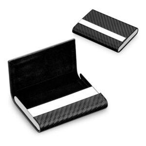 MILLARD. Metal card holder - Black