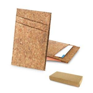 DANIEL. Cork card holder - natural