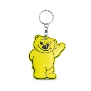 BERRY. Fluorescent keyring - Yellow