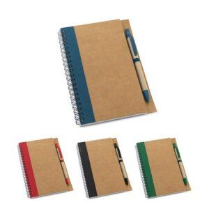 ASIMOV. B6 Notepad - Green