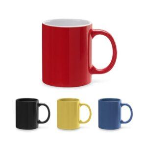 BARINE. Ceramic mug 350 ml - Yellow