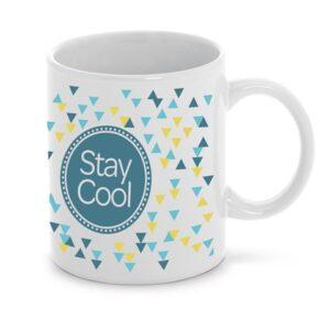 ANISEED. Ceramic mug 350 ml - White