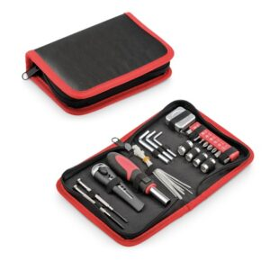 BENNET. Tool set - Red