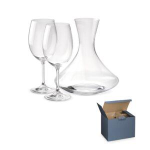 BORDEAUX. Wine set - Transparent