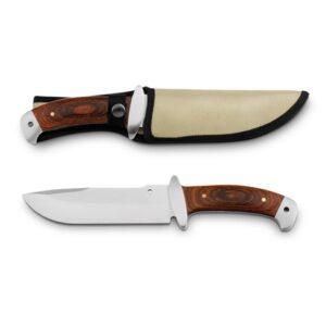 NORRIS. Cuchillo de acero inoxidable y madera