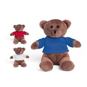 BEAR. Plush toy - Royal blue