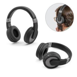 BARISH. Wireless headphones - Gun metal