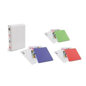 CARTES. Pack of 54 cards - Light green