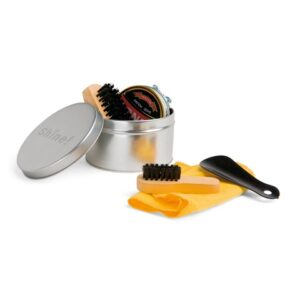 COBB. Cleaning shoes set - Satin silver