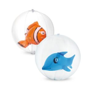 KARON. Inflatable beach ball - Orange