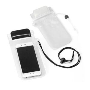EGEU. Mobile phone case - White