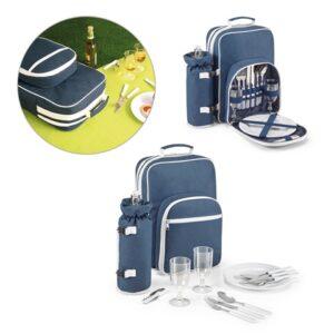 ARBOR. Picnic cooler backpack - Blue