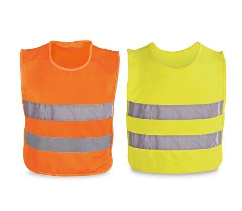 MIKE. Reflective vest for children - Orange