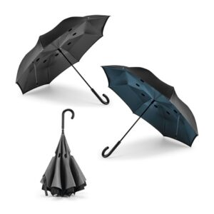 ANGELA. Reversible umbrella - Grey