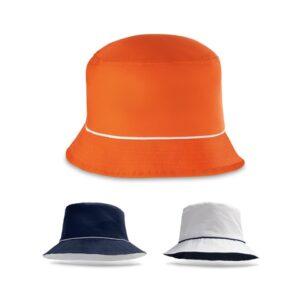 OLSEN. Bucket hat - Navy blue